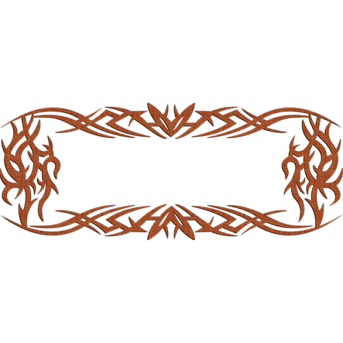 Tribal Frame L 1,00 x 0,40 m