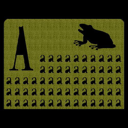 A-Z Kermit Headboard 1,00m x 0,75m